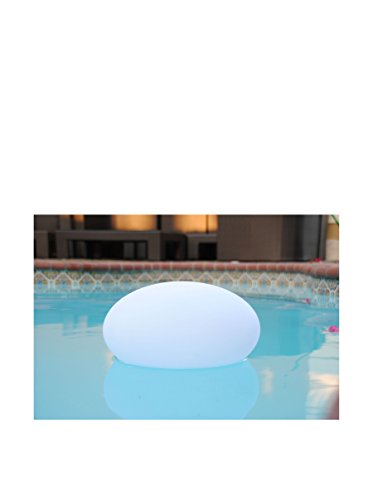 Artkalia Ballia Wireless LED Flat Oval, White Opaque