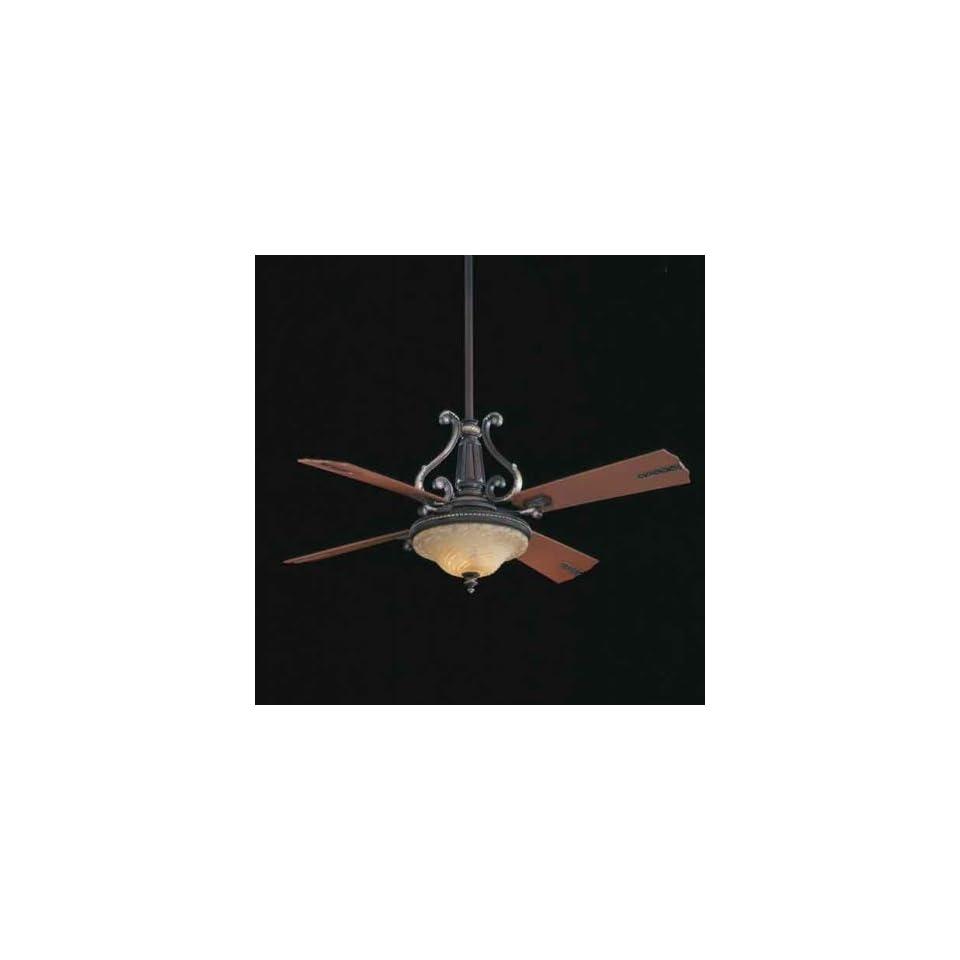 Minka Aire Ceiling Fans F819 Minka Aire Classic Vivaldo Ceiling Fan Sterling Walnut
