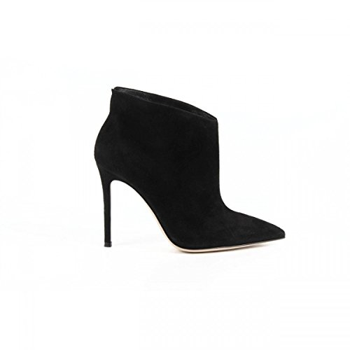 Gianvito Rossi Gianvito Rossi Womens Ankle Boot 05891 CAMOSCIO BLACK NERO