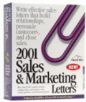 2001 Sales Marketing Letters 1.0