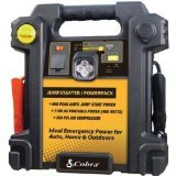 Cobra Electronics Cjic 550 900-amp Portable Jump Starter/air Compressor With Ac & Dc Power Outlets