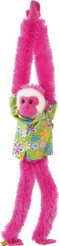 "SHAKIN LUAU MONKEY PINK FEMALE 17"" - 1"