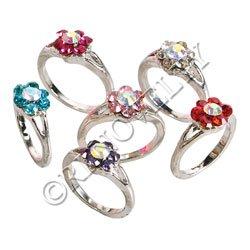 Flower Style Ring