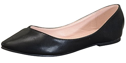 Atrevida Women's Zonia-10 Pointed Toe Ballet Flats
