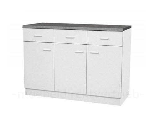 anrichte k chenschrank sideboard wei mdv ean 4250808600261. Black Bedroom Furniture Sets. Home Design Ideas
