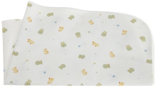 Discover Bargain Carters Keep Me Dry Flannel Bassinet Pad, Green/Yellow
