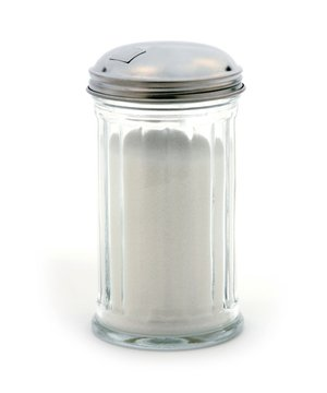 Anchor Hocking Flip Cap Glass Sugar Dispenser 12 Ounce