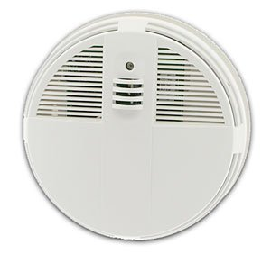 SMOKE DETECTOR CAMERA/DVR-NIGTHVISION-1 YEAR LI-ION BATTERY-PIR MOTION ACTIVATION-SIDE VIEW