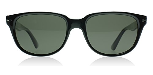 Persol Men 1503776002 Black/Green Sunglasses 54mm