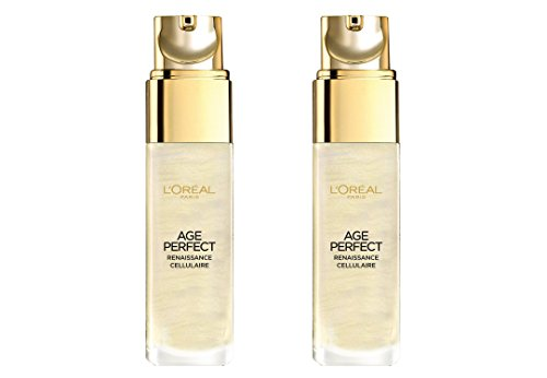"2x L'Oréal Paris Age Perfect/ ,,Gold"" Serum/ für reife Haut/ Zell-Renaissance/ Gesichtspflege/ je 30ml/ verschönerte, strahlende Haut thumbnail"