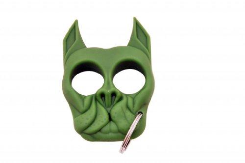 Brutus The Bull Dog - Self Defense Keychain - Green
