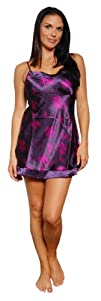 Pajama Heaven Women's Satin Chemise