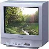 "SHARP 14D2G 14"" CRT Multisystem TV 220 Volts"