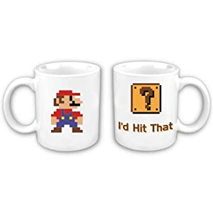Mario says I'd hit that coffee mug