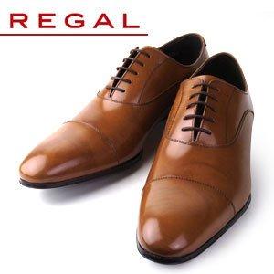 リーガル シューズ メンズ ストレートチップ REGAL 011R AL ブラウン 紳士靴 BR 25.0