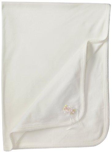 Biscotti Baby-Girls Newborn Dainty Blanket, Ivory, One Size