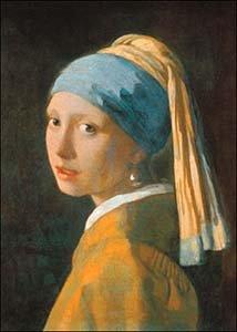 ポスター ヨハネス フェルメール 真珠の耳飾りの少女