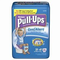 Huggies Pullups C/a Boys 3t-4t , 21323 Jumbo Cool Alrt 32-40l