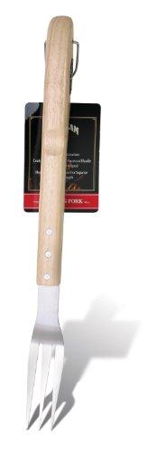 Jim Beam Jb0139 Wooden Handle Grilling Fork