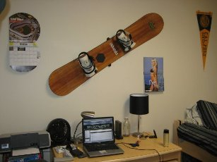 HangTime Snowboard Wall Mount review