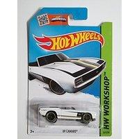 Hot Wheels, '69 Camaro [White] Die-cast Vehicle #241/250, 1:64 Scale (White Camaro compare prices)