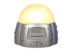 SOLEIL SUN Alarm Ultima Clock Radio Dawn Simulator