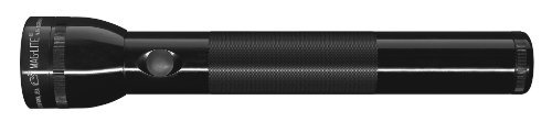 Maglite St3D016 3-D Cell Led Flashlight, Black 3 D-Cell Flashlight With 3-Watt Led Aluminum Alloy Case Water And Shock Resistant
