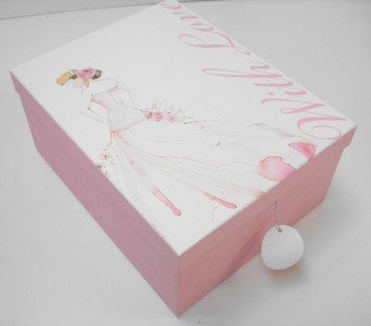WITH LOVE CARDBOARD CRAFTBOOK A4 PAPER STORAGE GIFT BOX. Box 2: 11x22x30cm