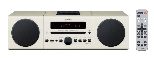Yamaha MCR-042WH Desktop Audio System (White)