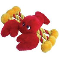 Patchwork Pet Lobster 19-Inch Squeak Toy for Dogs