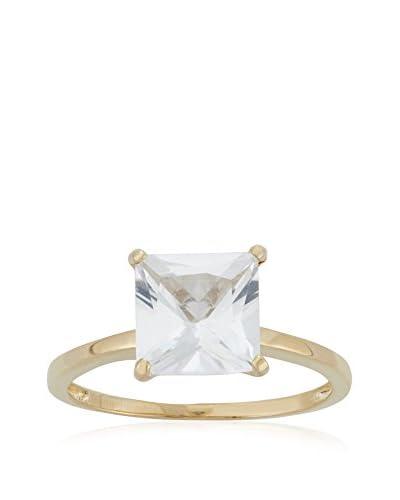 Diamante 3 Ct. Princess-Cut White Sapphire Ring