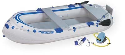 Image of Sea Eagle® SE - 9 Inflatable Fishing Boat Dream Package (B0013F8GWA)
