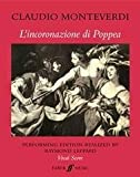 img - for Poppea: Piano Vocal Score (Faber Edition) book / textbook / text book