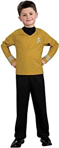 Child Captain Kirk Costume from Star Trek