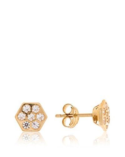 Gold & Diamonds Pendientes Lucy