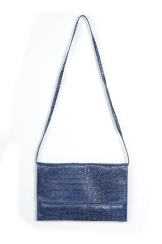 Guiltless Alligator Love Purse in Blue
