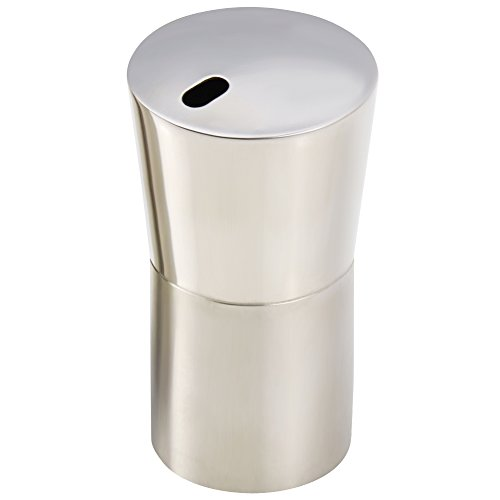Newness Stainless Steel Toothpick Holder Y Shape Silver
