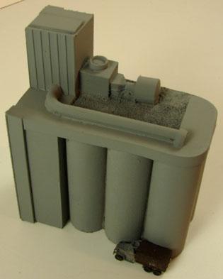 Terrain: 1/285th Scale (6mm) WWII/Modern - Grain Elevator