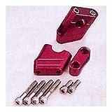 ポッシュ(POSH) スーパーバイクポジションブラケット ZEPHYR400/750/1100 シルバー 031052-03