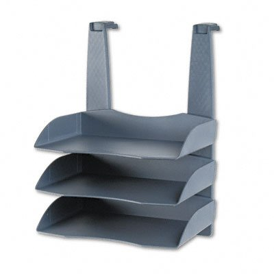 Partition Additions Triple Desk Tray for Desktop or Cubicle Wall, Hangers Incl FEL55081 - Buy Partition Additions Triple Desk Tray for Desktop or Cubicle Wall, Hangers Incl FEL55081 - Purchase Partition Additions Triple Desk Tray for Desktop or Cubicle Wall, Hangers Incl FEL55081 (Fellowes, Office Products, Categories, Office Supplies, Desk Accessories, Desk Trays)