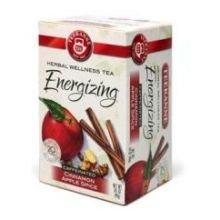 Teekanne Caffeinated Cinnamon Apple Spice Tea - 20 Per Pack -- 6 Packs Per Case.