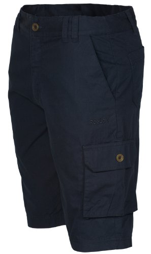 Reebok-Pantaloni corti cotone Black Small