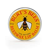 Burts Bees Beeswax Lip Balm Tin .3 Oz