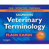 Saunders Veterinary Terminology Flash Cards