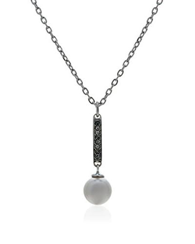 Misaki Set catenina e pendente Grenadine argento 925 rodiato