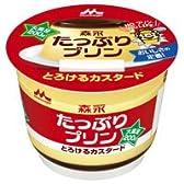 森永たっぷりプリンカスタード 1ケース(6個入)【dzt-086】
