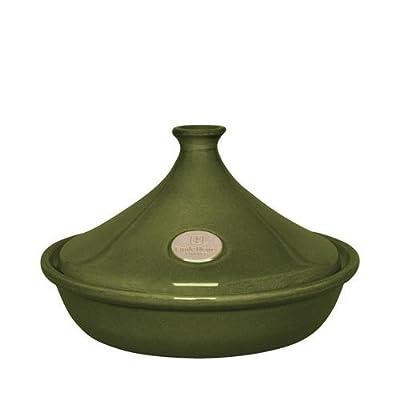 Emile Henry 25cm Tagine Olive Green - Ceramic by Emile Henry