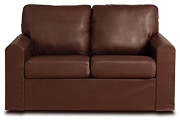 Laney LaPaz Saddle Leather Loveseat