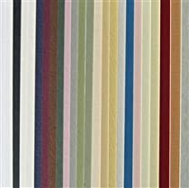Full Sheet Mat Board Variety Pack 25 Assorted Colors 32 x 40 Cream Core
