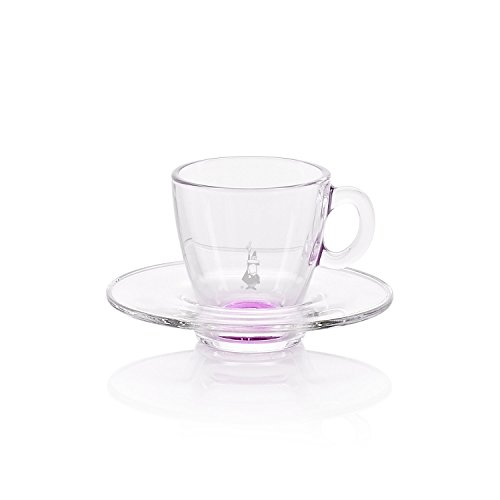 RTATZ805 Espressotasse mit Untertasse, rosa